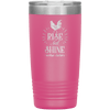 Rise and Shine Mother Cluckers 20oz Tumbler Pink - Tierra Bella