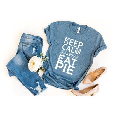 Keep Calm and Eat Pie Unisex Jersey Tee - Tierra Bella