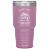 Support Wildlife Raise Boys 30oz Tumbler Light Purple - Tierra Bella