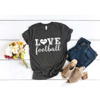 Love Football Unisex Jersey Tee - Tierra Bella