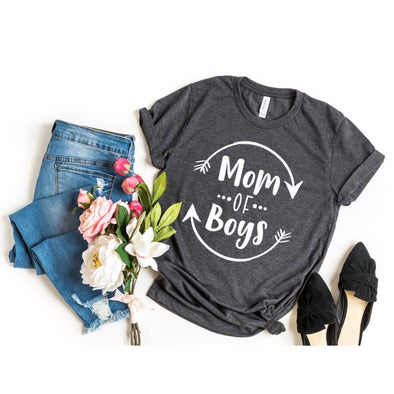 Mom Of Boys Unisex Jersey Tee - Tierra Bella