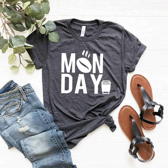 Monday Coffee Unisex Jersey Tee - Tierra Bella
