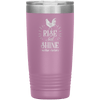 Rise and Shine Mother Cluckers 20oz Tumbler Light Purple - Tierra Bella