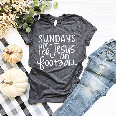 Sundays Are For Jesus And Football Unisex Jersey Tee - Tierra Bella