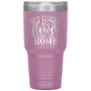 Not Fragile Like a Flower Fragile Like a Bomb 30oz Laser Etched Tumbler Light Purple - Tierra Bella