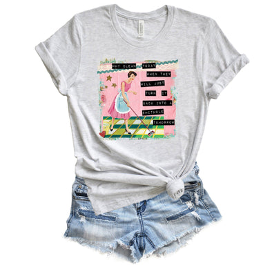 Why Clean Today Unisex Tee Ash XS - Tierra Bella