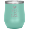Rise and Shine Mother Cluckers Stemless Wine Tumbler Teal - Tierra Bella