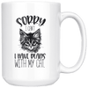 Sorry I Can't I Have Plans With My Cat 15oz Mug - Tierra Bella