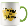 It's MimOsa Not MimosA Accent Mug Green - Tierra Bella