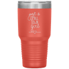 Just a Small Town Girl 30oz Tumbler Coral - Tierra Bella