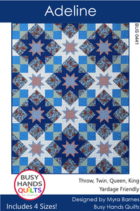 Adeline Quilt Pattern PDF - Busy Hands Quilts