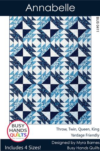 Annabelle Quilt Pattern PRINTED