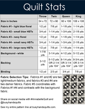 Load image into Gallery viewer, Annabelle Quilt Pattern PRINTED
