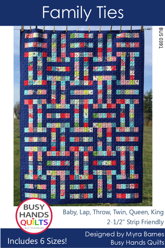 Family Ties Quilt Pattern PRINTED