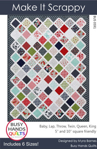 Make It Scrappy Quilt Pattern PDF