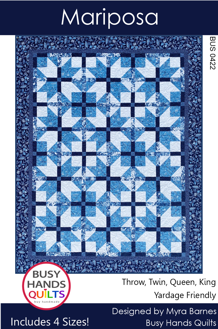 Mariposa Quilt Pattern PDF - Busy Hands Quilts