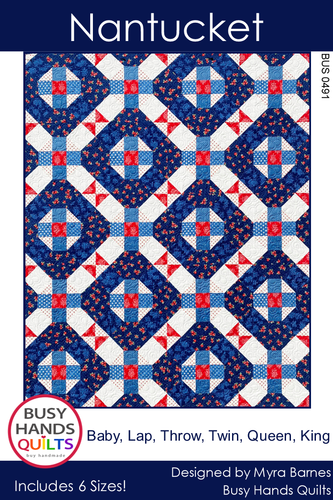 Nantucket Quilt Pattern PRINTED