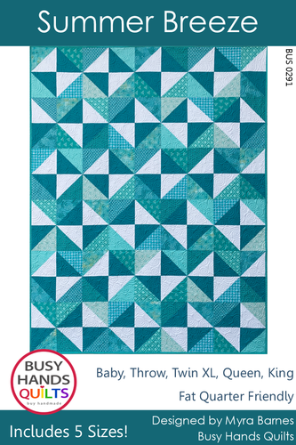 Summer Breeze Quilt Pattern PRINTED