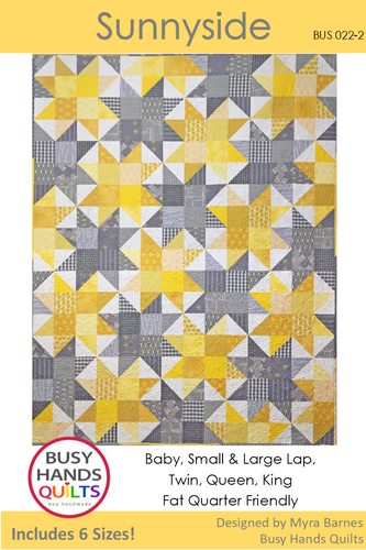 Sunnyside Quilt Pattern PRINTED