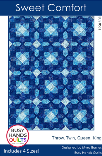 Sweet Comfort Quilt Pattern PRINTED
