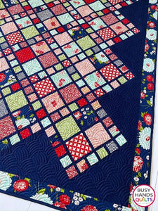 A Scrappy Life Quilt Pattern PRINTED
