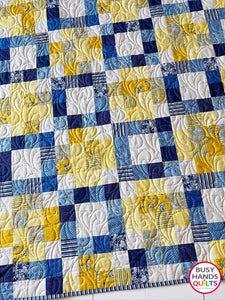 Connected Quilt Pattern PRINTED