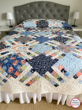 Load image into Gallery viewer, PREORDER Home Awaits Quilt Pattern PRINTED