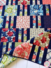 Load image into Gallery viewer, Picket Fence Quilt Pattern PDF