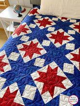 Load image into Gallery viewer, School Colors Quilt Pattern PRINTED