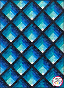 Waterfall Quilt Pattern PRINTED