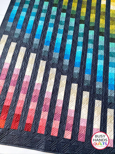 Easy Bargello Quilt Pattern PRINTED