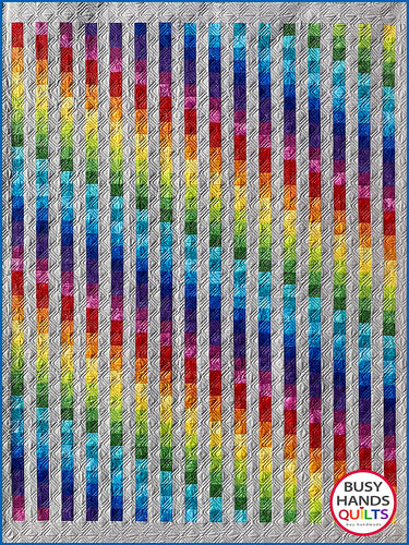 Easy Bargello Quilt Pattern PDF