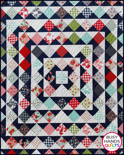 Skip To My Lou Quilt Pattern PDF