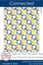 Load image into Gallery viewer, Connected Quilt Pattern PRINTED