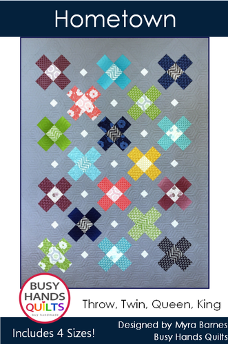 Hometown Quilt Pattern PDF