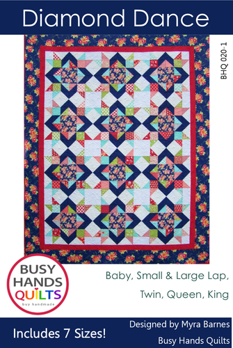 Diamond Dance Quilt Pattern PDF