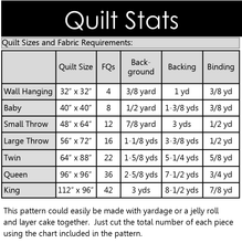 Load image into Gallery viewer, Square Dance Quilt Pattern PDF