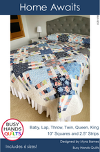 Load image into Gallery viewer, Home Awaits Quilt Pattern PDF