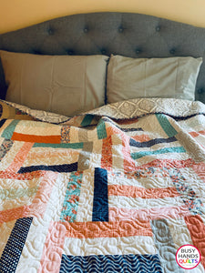 Skyline Divide Quilt Pattern PDF