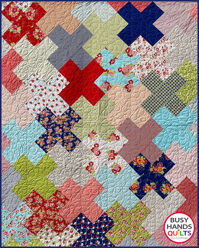 Love Multiplied Quilt Pattern PDF