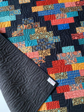 Load image into Gallery viewer, Handmade Hampton Court Throw Quilt in Imperial Elegance