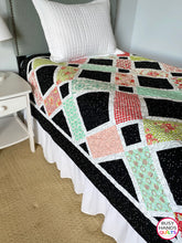 Load image into Gallery viewer, Handmade Looking Glass Twin Bed Quilt