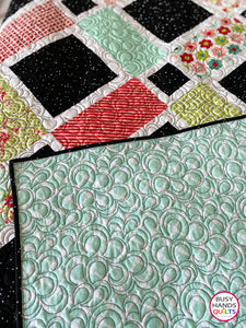 Handmade Looking Glass Twin Bed Quilt