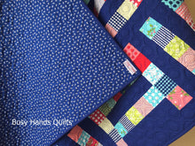 Load image into Gallery viewer, Handmade Family Ties Throw Quilt - Busy Hands Quilts