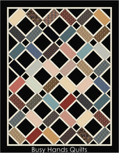 Load image into Gallery viewer, Looking Glass Quilt Pattern PDF - Busy Hands Quilts