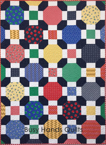 Maribelle Quilt Pattern PDF - Busy Hands Quilts