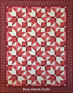 Mariposa Quilt Pattern PRINTED - Busy Hands Quilts