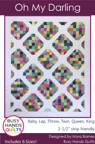 Oh My Darling Quilt Pattern PDF