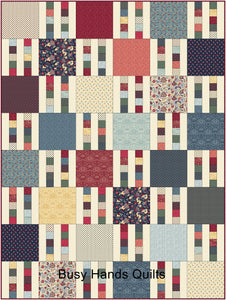 Picket Fence Quilt Pattern PRINTED