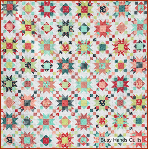 Summer on the Porch Quilt Pattern PDF - Busy Hands Quilts